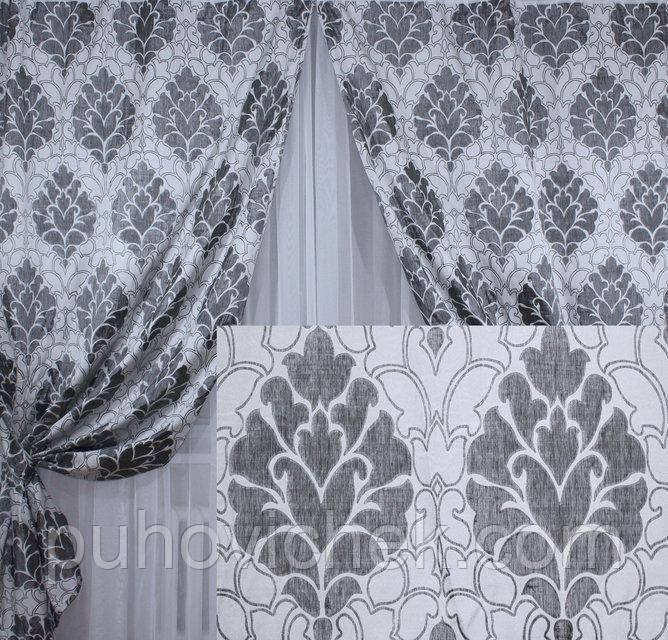 Комплект плотных штор для спальни