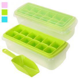 Форма для льда с контейнером и лопаткой R82590, фото 2