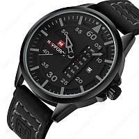 Мужские часы Naviforce модель NF9074bgyb, цвет корпуса черный, фото 1