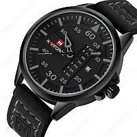 Мужские часы Naviforce модель NF9074bgyb, цвет корпуса черный