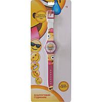 Часы аналоговые Emojis розовые TBL (EMJ30764)