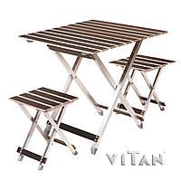 Комплект складной мебели Vitan Alluwood (большой) 6240