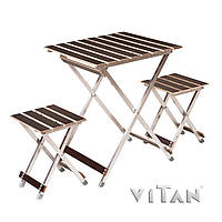 Комплект складной мебели Vitan Alluwood (малый) 6230