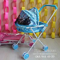 Коляска для куклы Классика, 26-70-11см,колеса 8шт 6,5см в кульке,45-52-25,5см