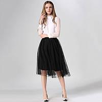 Красивая женская юбка в расцветке