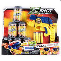 Бластер EXCEL 3 банки, 6 патронов Zuru X-Shot (36116)
