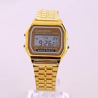 Мужские часы Casio Classic retro gold