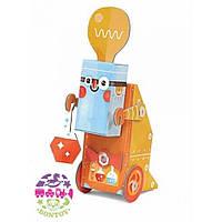 Krooom Картонный 3D конструктор Робот Ученый Krooom (K-465)