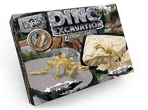 """Набор для проведения раскопок """"DINO EXCAVATION"""" 7513DT динозавры (3 вида наборов, по 2 динозавра в наборе)"""
