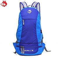 Cкладной рюкзак Jungle King 30L синий, фото 1