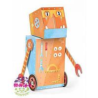 Krooom Картонный 3D конструктор Робот Строитель Krooom (K-461)