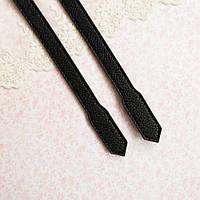 """Ручки для сумки """"Кордова"""" - 60 см, черные"""