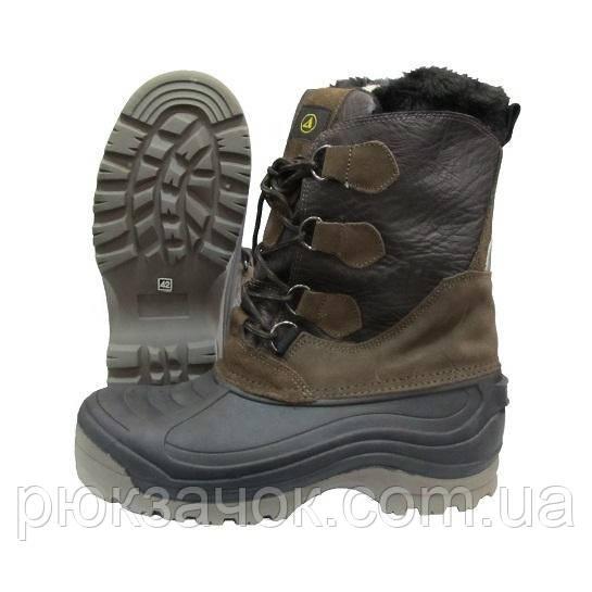 Ботинки зимние утепленные с вкладышем для охоты и рыбалки XD-301