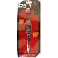 Часы светодиодные Звездные войны красно черные TBL (SW35356)