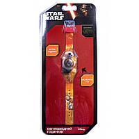 Часы светодиодные Звездные войны оранжевые TBL (SW35677)