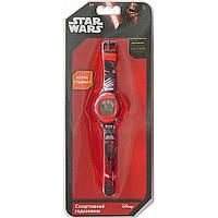 Часы спортивные Звездные войны красно черные TBL (SW35219)