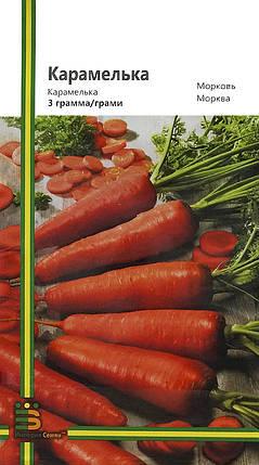 Семена моркови Карамелька 3 г, Империя семян, фото 2
