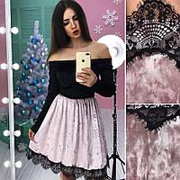 Платье с ажурной отделкой, фото 1