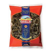 Макароны Divella Tagliatelle Verdi (зеленые,с добавлением шпината)500 г (Италия)