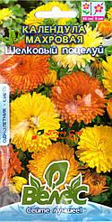 Семена календулы махровой Шелковый поцелуй 0,5г ТМ ВЕЛЕС