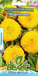 Семена подсолнечника декоративного Медвежонок 1г ТМ ВЕЛЕС