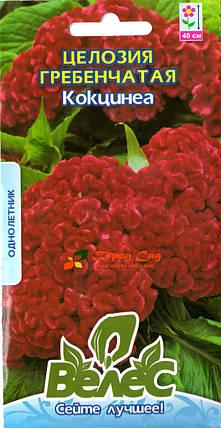 Семена целозии Кокцинеа 0,2г ТМ ВЕЛЕС, фото 2