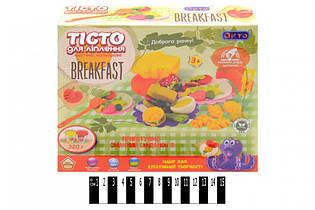 Набор для творчества тесто для лепки Вкусный завтрак 11014, Украина