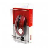 Мышь беспроводная HV-MS989GT (1600 DPI) Wireless USB, black/red, фото 2
