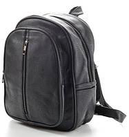 Рюкзак кожаный женский черный 8905