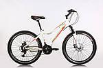 """Подростковый велосипед CROSSRIDE MOLLY LADY MTB 24"""" 13"""" Белый"""