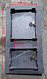 Дверка пічна чавунна 260х480 мм., фото 2