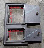 Дверка пічна чавунна 260х480 мм., фото 3