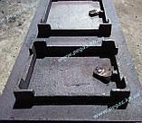 Дверка пічна чавунна 260х480 мм., фото 4