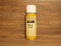 Лак-спрэй, золотой, Spray Gold HS (с повышенным сухим остатком) , 400 ml., Borma Wachs