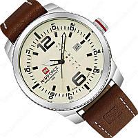 Мужские часы Naviforce модель NF9063sbbn, цвет корпуса стальной, фото 1