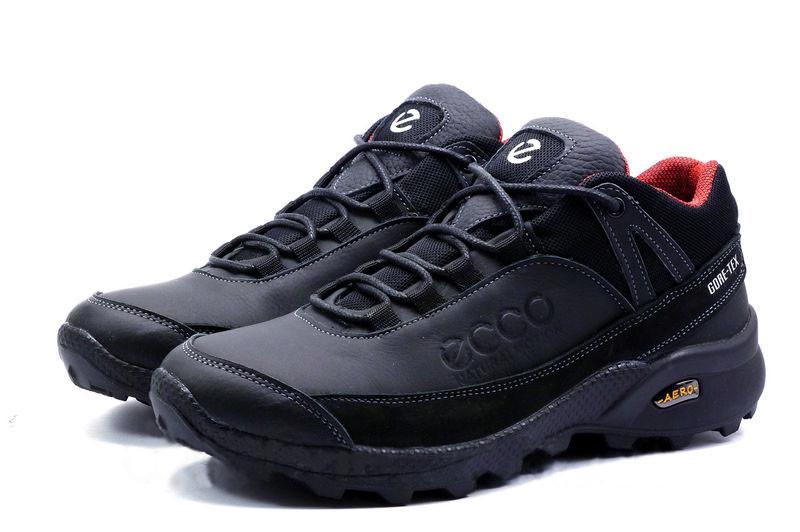 491c3bbc Кожаные мужские зимние ботинки Ecco Aero ,черные: продажа, цена в ...