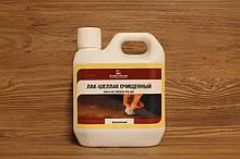 Шеллак очищенный, для дерева, прозрачный, Shellac French Polish, Borma Wachs, Can d'Oro Line, 1 литр