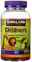 Витамины для детей, Kirkland Signature, Children´s Complete Multivitamin 160 шт Gummies