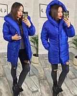 Женская тёплая куртка зефирка( плащевка+синтипон 250)