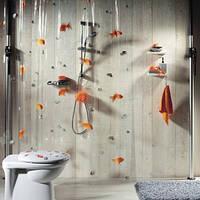 Шторка для ванной прозрачная виниловая SPIRELLA GOLDFISH