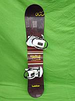 Новий сноуборд Wed'ze fr1 135 см см + нові кріплення