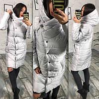 Куртка-пальто мод.245 (плащевка+синтипон 200)