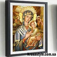 Алмазная вышивка икона Богородица, фото 1