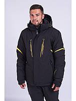 Мужская горнолыжная куртка Avecs, черный Р. L XL