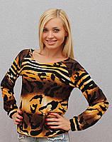 Женская кофта с тигровым принтом, фото 1