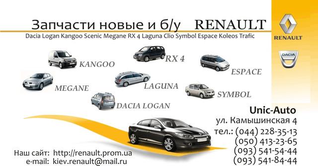 комплектующие renault symbol new