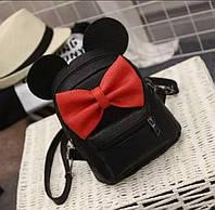 """Веселый рюкзак с ушками  """"Микки Black"""", фото 1"""