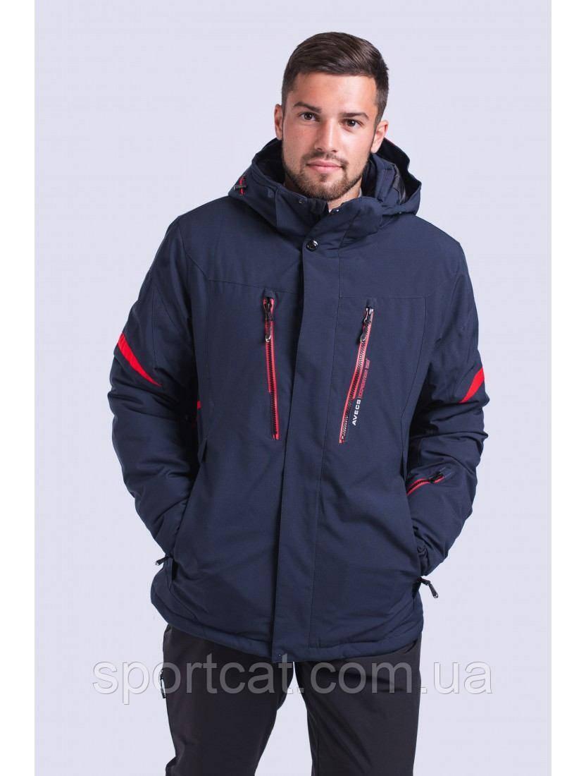 Мужская горнолыжная куртка Avecs, синий Р. L