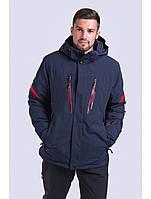 Мужская горнолыжная куртка Avecs, синий Р. L, фото 1