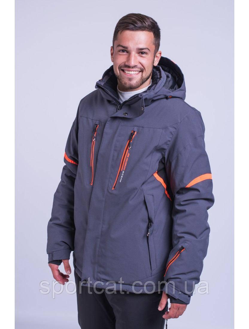 Мужская горнолыжная куртка Avecs, серый